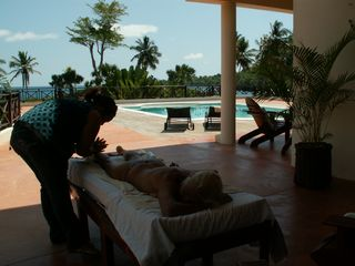 Samana villa photo - Therapist massage