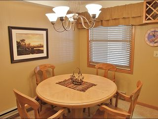 Steamboat Springs condo photo - Dining For 4, Perfect Game Table