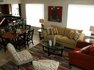 Perdido Key condo photo - Living Area and Kitchen