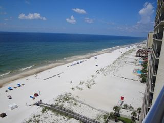 Gulf Shores condo photo - WESTERN VIEW FROM BALCONY