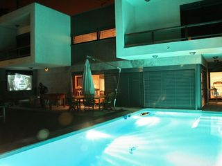 Ericeira villa photo - Pool + Cinema (night view)