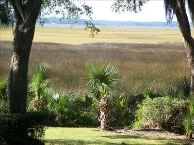 Marsh and Intercoastal View from Back Deck