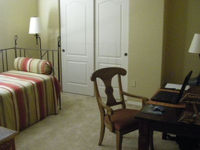 Marana house rental - Office/ Bedroom Four with Trundle Bed