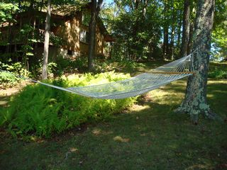 Becket house photo - swing in the hammock