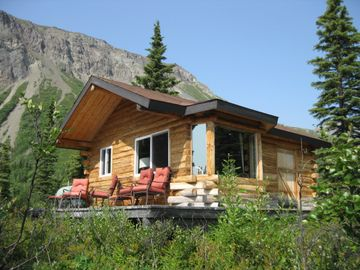 Chickaloon cabin rental - Nestled in a mountain meadow with stunning mountain vistas all around.