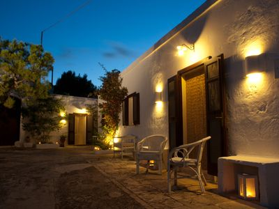 Masseria seventeenth century to 3 min. sea - typical apartment in the olive grove