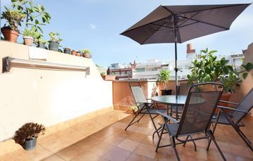 Sagrada Familia apartment rental - The ATTIC VIEWS terrace