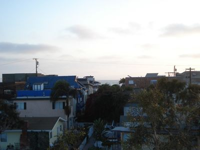 View of the Ocean, from Private Rooftop Deck