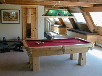 Entertainment rooms including Home Entertainment System and Pool Table