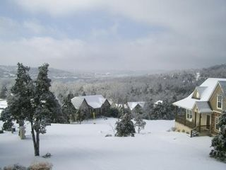 Branson house photo - Beautiful wintertime in our neighborhood...Branson Canyon