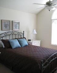 Big Boulder house photo - Upstairs bedroom with queen bed