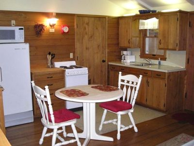 Fully Equipped Kitchenette With Dining Area