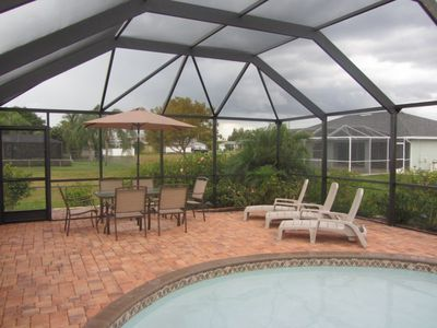 Cape Coral house rental - Patio Set #2
