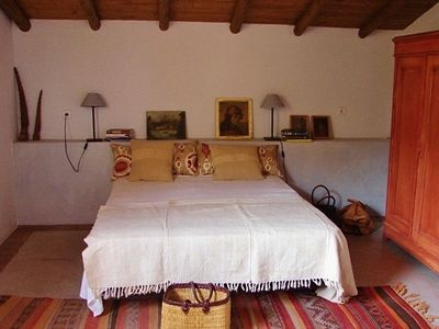 CORTIJO -bedroom with roof terrace