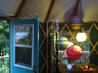 Swannanoa cabin photo - interior yurt