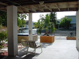 Islamorada house photo - Car port under the home