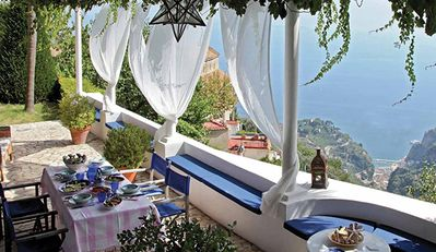 A Luxury Villa Above Amalfi with a Pool and Beautiful Views.