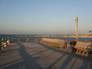 Navarre Beach condo photo - Our Fishing Pier Up Close.