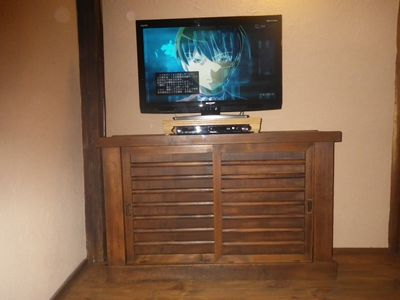 Kyoto townhome rental - Cable TV, DVD and intenet