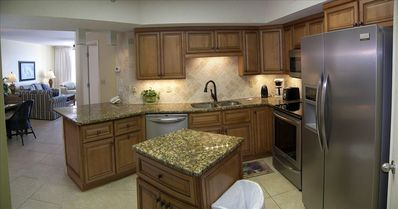Newly remodeled kitchen.
