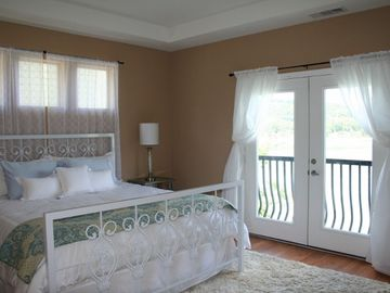 Cherokee Lake condo rental - Elegant Master Bedroom with King-Sized Bed