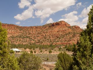 Kanab house photo - View across from the home