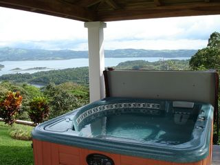 Nuevo Arenal estate photo - Relax in the Natural Spring Jacuzzi and Enjoy View