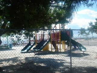 Tavernier house photo - Park/playground across the street