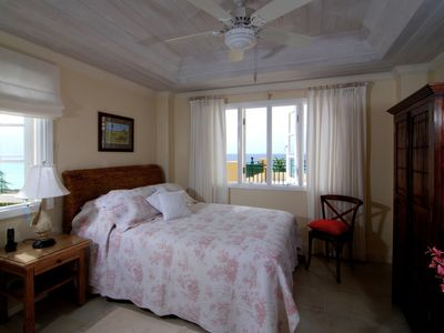 St. Lawrence Gap condo rental - Bedroom 2, queen size bed, full ensuite