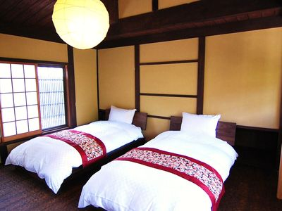 Kyoto townhome rental - Bedroom