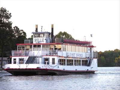 Cruise Lake Hamilton - sightseeing, lunch, dinner, dinner dance cruises