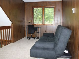 Big Bass Lake house photo - Loft area with futon