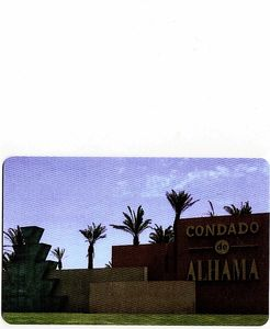 Condado de Alhama Golf Resort apartment rental - Resort Entrance Sign