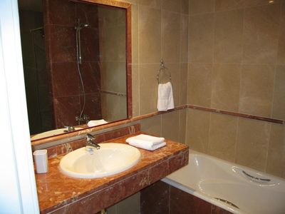 Wonderful, luxury, marble en-suite