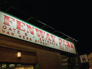 Newport condo photo - Fenway Park