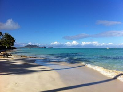 Summer day at LaniKai beach- a nice bike ride or short drive from Tropical Sands