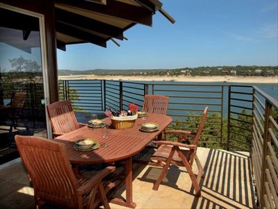 Covered Balconies and outdoor areas provide numerous ways to enjoy the views!