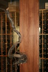 Healdsburg estate photo - Wine Vault Vine Door Knob
