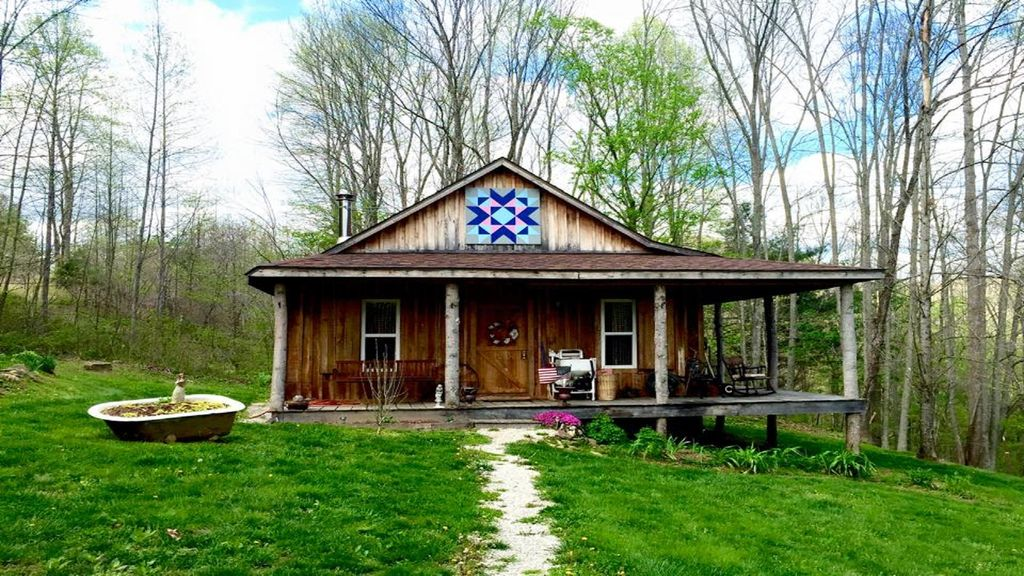 A simple refuge b b in the heart of the vrbo for Daniel boone national forest cabins