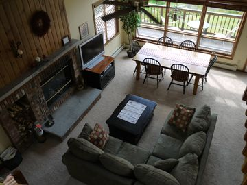 Bretton Woods condo rental - Main living area.