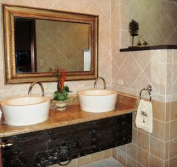 Playa Hermosa house photo - Ensuite dual sinks in master bath