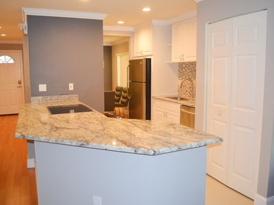 Completely renovated kitchen with all new appliances