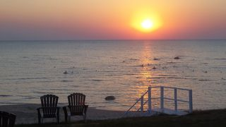 Port Sanilac cottage photo - Sunrise on beautiful Lake Huron !!!!!
