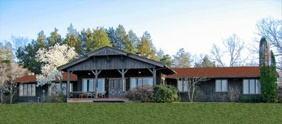 River Oaks Ranch Lodge: 220 Acre Estate on the Courtois