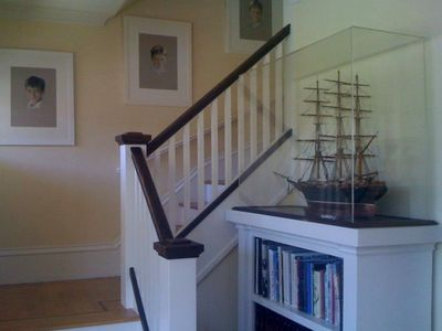 San Francisco house rental - Staircase