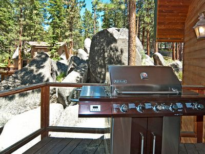 Zephyr Cove house rental - Jenn-Air B-B-Q