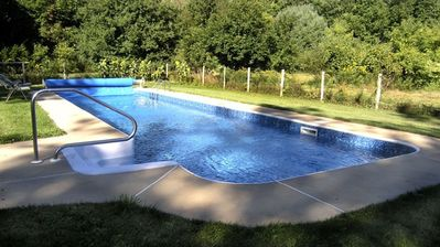 45' x 12' Lap Pool Ideal for Exercise & Family Fun