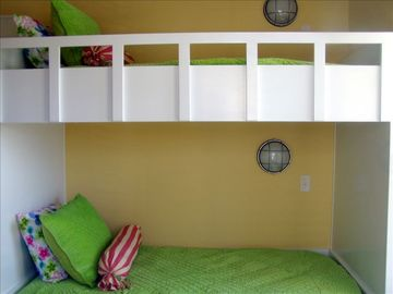 Bunk Room (There is another set on the opposing wall plus a trundle)