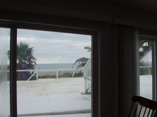 Hutchinson Island townhome photo - View from living room with beach access