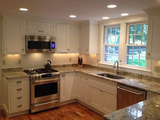 North Kingstown house photo - kitchen (all new GE Cafe appliances)